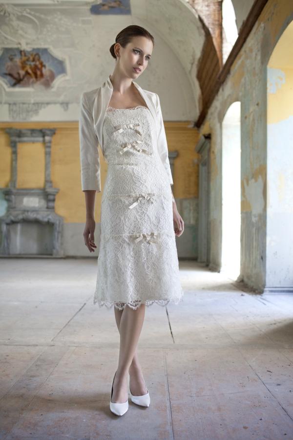 Robe de mariage civil classique