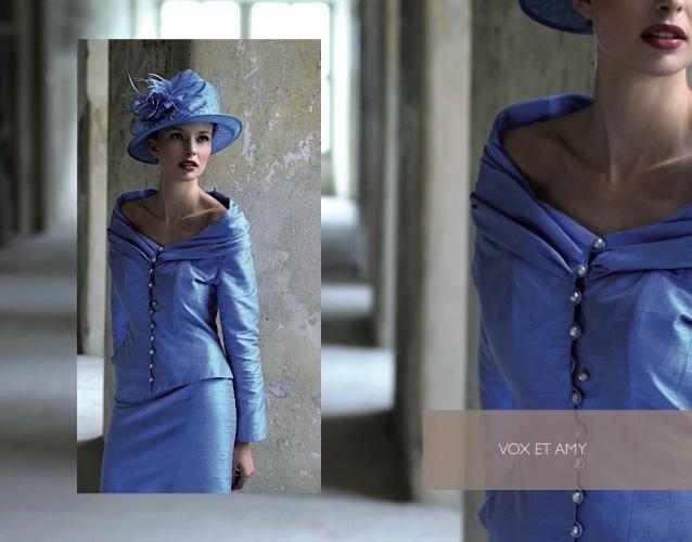 la rapprochant dun bleu majorelle il voque comme les autre bleu linfini et la srnit cette nuance de bleu correspond tout type de femme - Tailleur Femme Grande Taille Pour Mariage